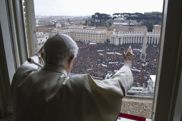 Benedict XVI papal audience