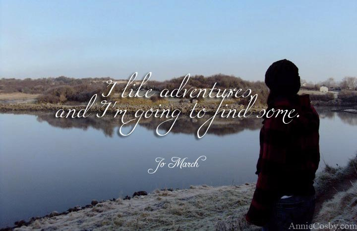 Jo March adventure quote
