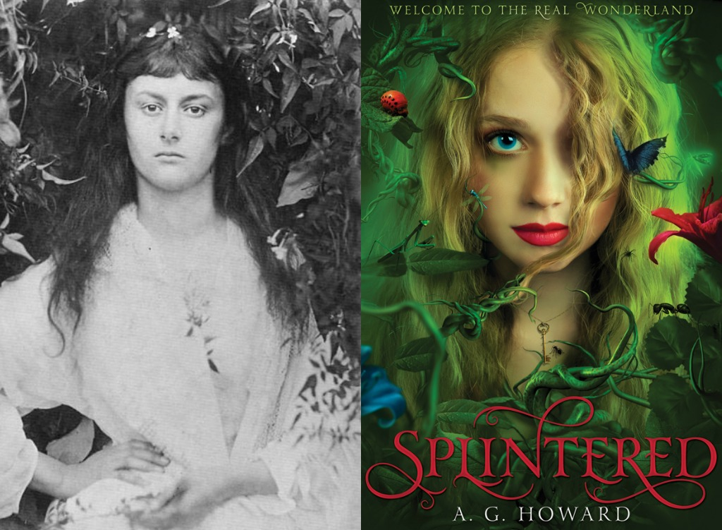 Doesn't it look like this photo of Alice was the inspiration for the Splintered cover? What a great depiction of the spirit of Alice!