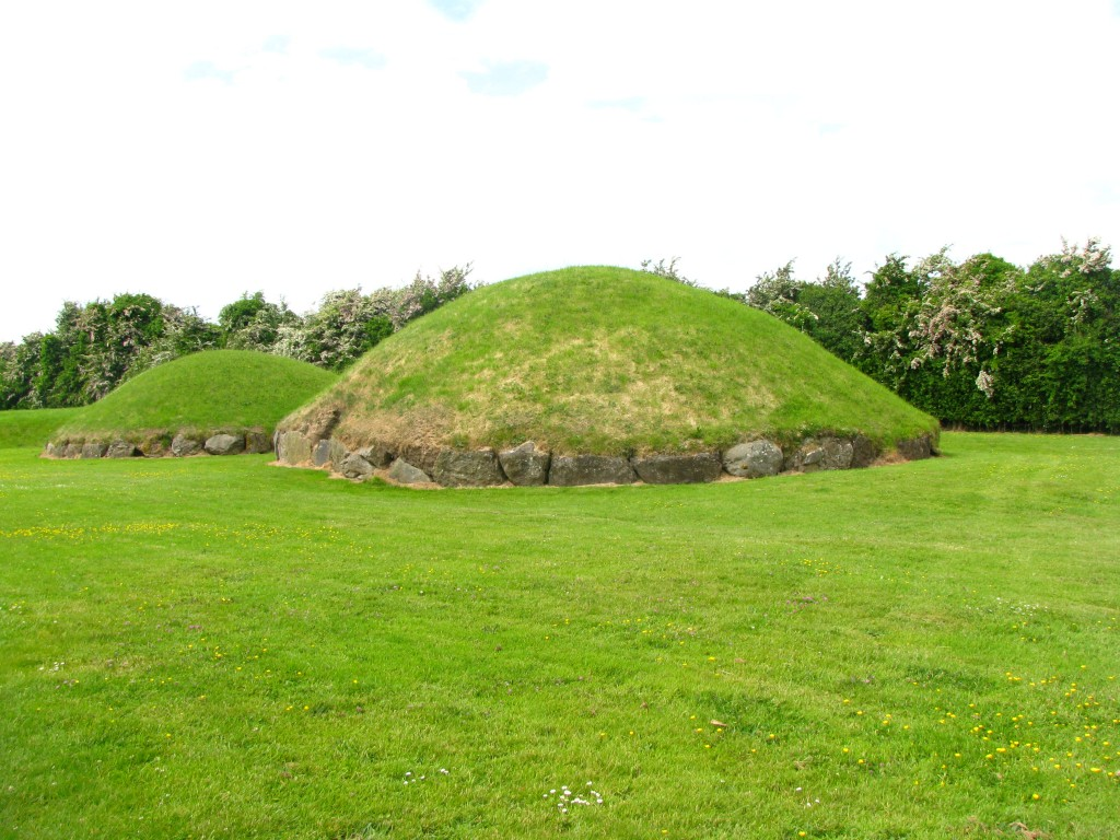 Mounds at New Grange