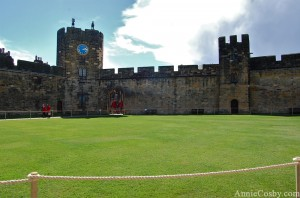 Harry Potter Alnwick castle