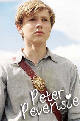 First book boyfriend Peter Pevensie