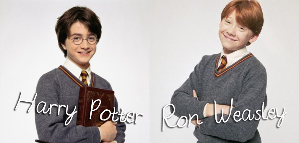 First Book Boyfriend Harry Potter and Ron Weasley