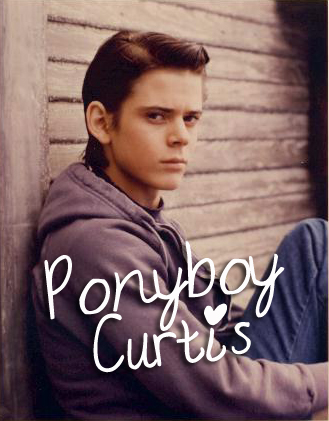 First book boyfriend Ponyboy