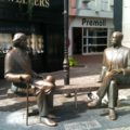 Things Drunk Irish People Say to an Oscar Wilde Statue